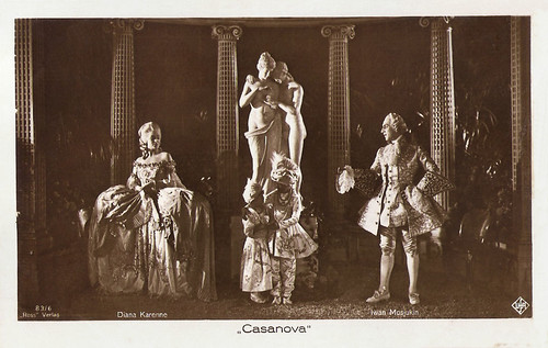 Diana Karenne and Ivan Mozzhukhin in Casanova