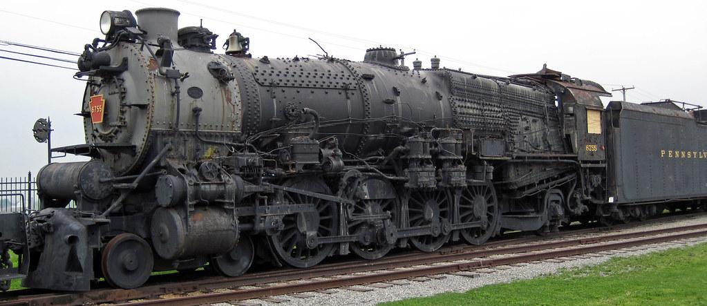 Pennsylvania Railroad # 6755 steam locomotive (M1b 4-8-2