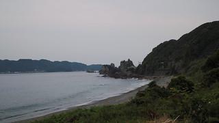 橋杭岩を望む   by taoweblog