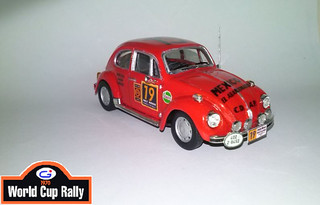 WOLKSWAGEN COX 1600cc  World Cup Rally 1970