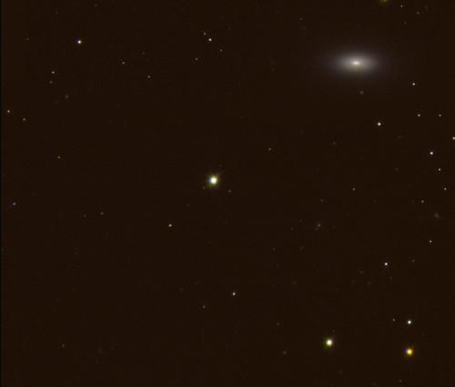 Lenticular galaxy NGC 1377