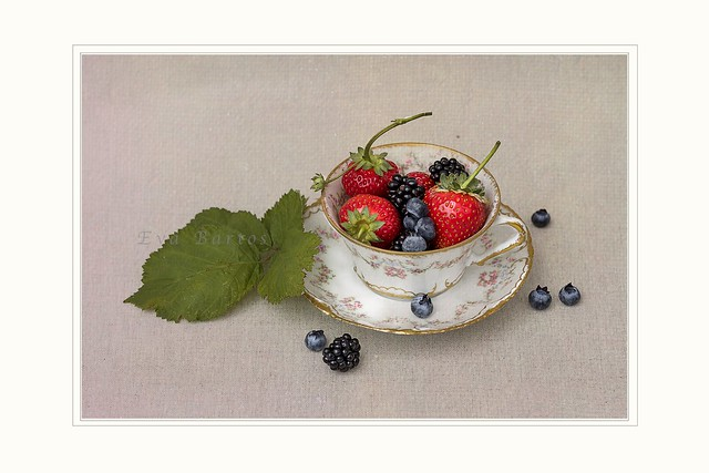 Cup of berries