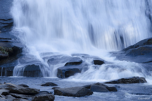 Base ofHigh Falls, Dupont Forest  NC | by dondiartphotography @ gmail.com