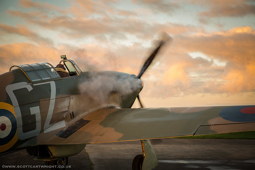 Hawker Hurricane Startup