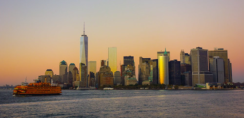Manhattan - Magic Hour | by Jannes Glas.