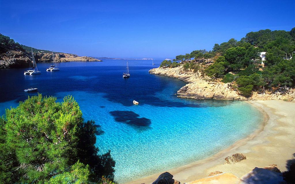 Cala Salada Ibiza Mapa.Playa Cala Salada Ibiza Cala Salada Beach In Ibiza Flickr