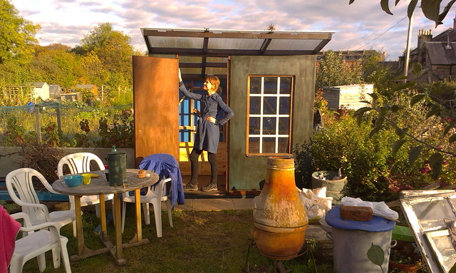 KD models the allotment Shed