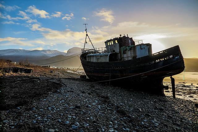 The Wreck, Corpach