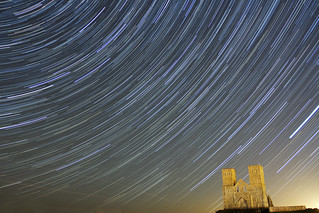 Reculver Star Trails