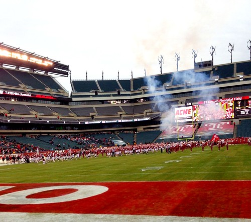 Temple takes the field