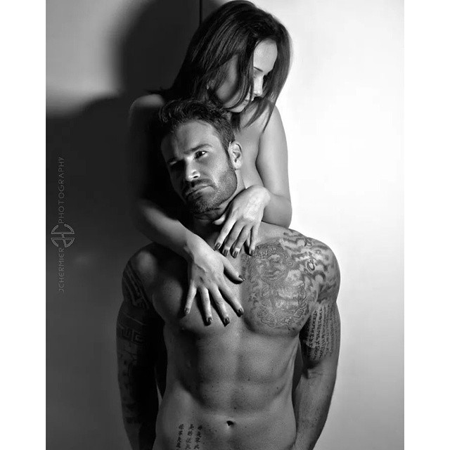 Are sexy nude tattooed couples