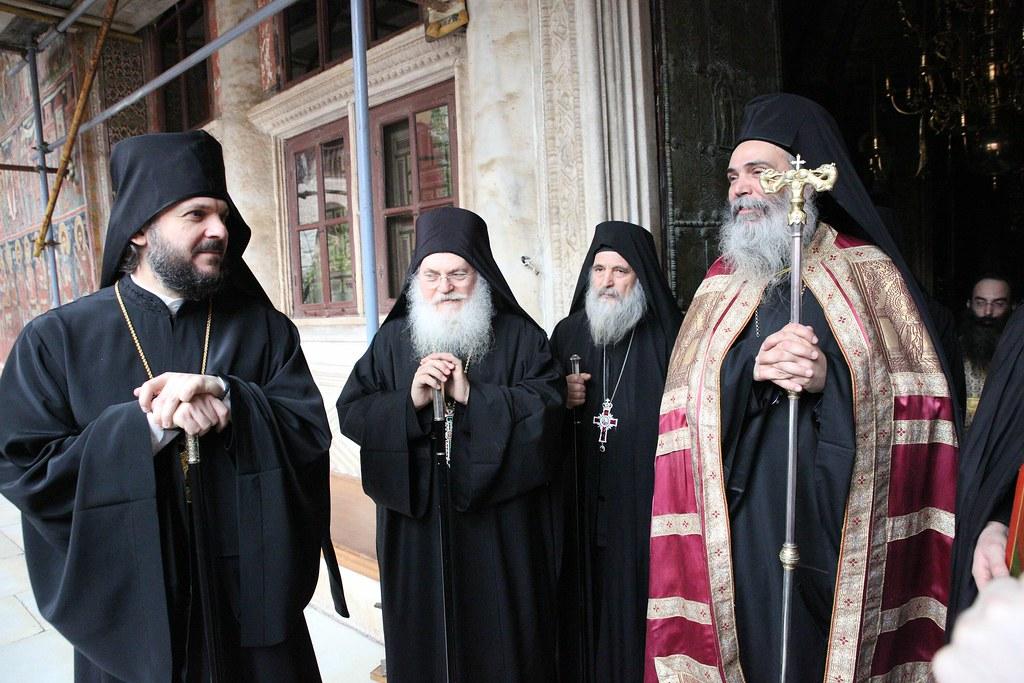 Архиепископ Петергофский Амвросий совершил паломничество на Святую Гору Афон / Archbishop Ambrose of Peterhof visited the Holy Mount Athos