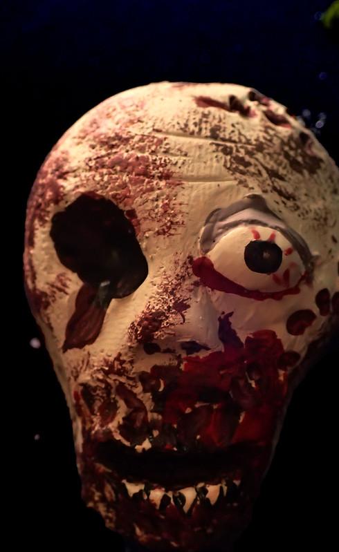 Zombie Head Close Up