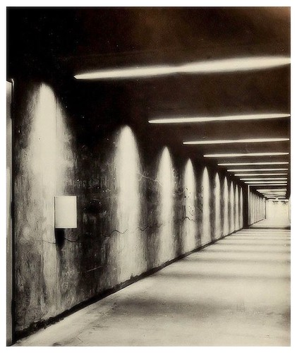 Tunnels at Carleton University from the Carleton Yearbook 1970