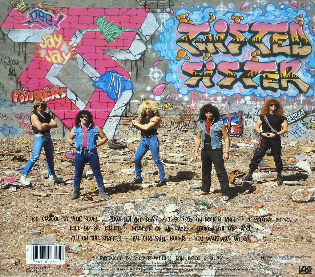 TWISTED SISTER Come Out And Play Gimmick Pop-Up Album Cove