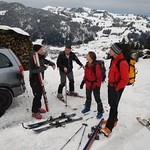 Skitour Chumigalm Feb. 2014