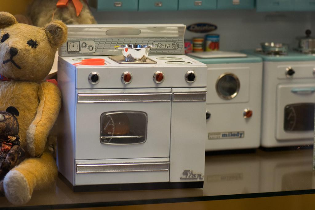 Toy kitchen appliances