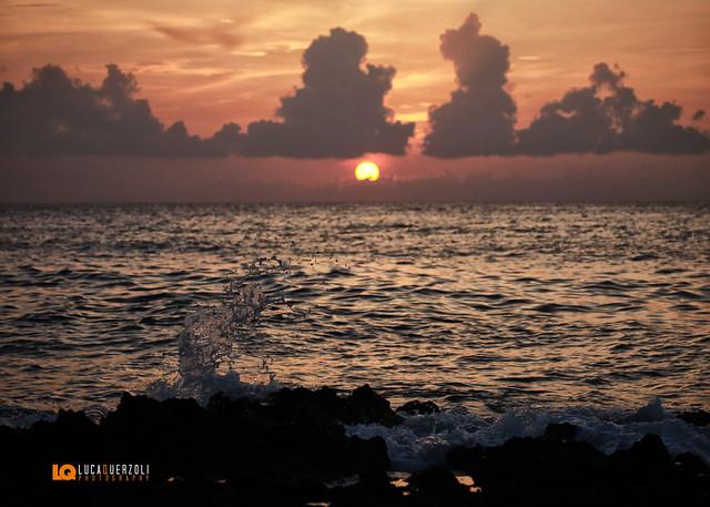 Nuvole a tramonto - Malecon Ciudad de la Habana Cuba