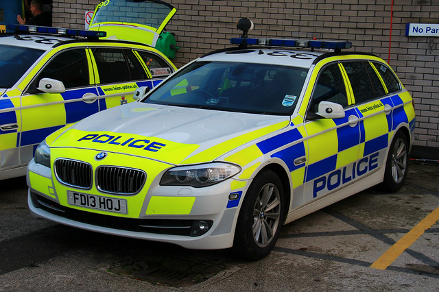 Leicestershire Police BMW 530d Touring Roads Policing Unit Traffic Car
