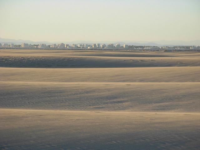 desert like beach