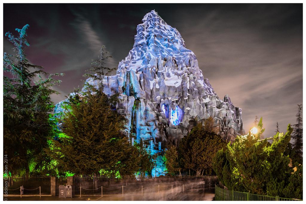 Matterhorn Mountain - Disneyland, CA | Sitting majestically … | Flickr