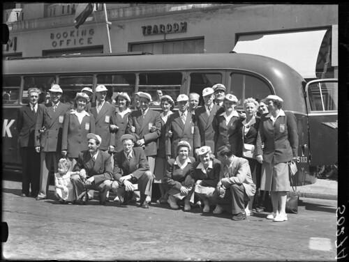 07-28-1948_05027A Vertrek naar Londen