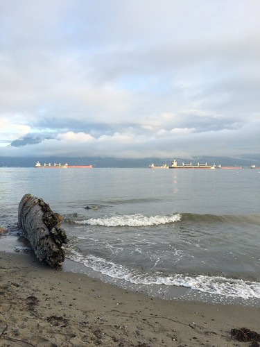 King Tides at Spanish Banks | by Breeonne Baxter