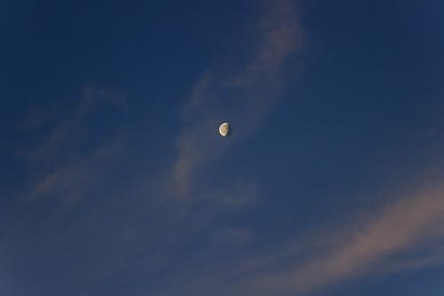 morning winter sky moon nature clouds sunrise sofia january bulgaria canoneos600d
