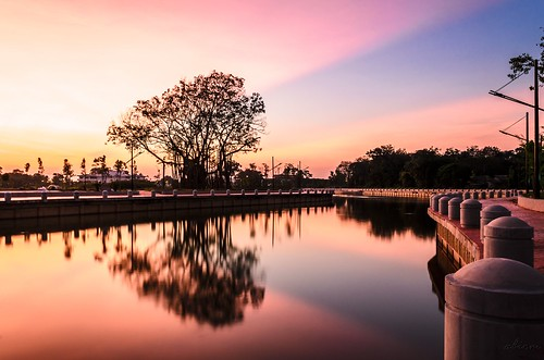 sunset colors clouds reflections river landscape melaka autofocus sungaimelaka abiom