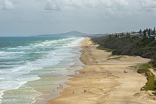 ocean sea seascape beach landscape australia queensland sunshinecoast nikond800