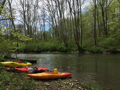 Kayaking Shermans Creek, May 7, 2016 | by dziner