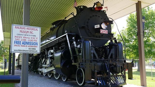Frisco 4524 Steam Locomotive