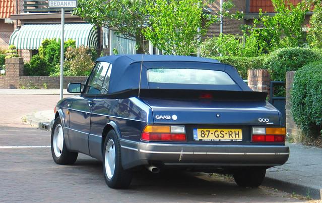 1992 Saab 900 S Cabrio 2.0