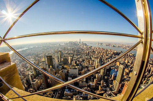new york city manhattan skyline aerial | by DigiDreamGrafix.com