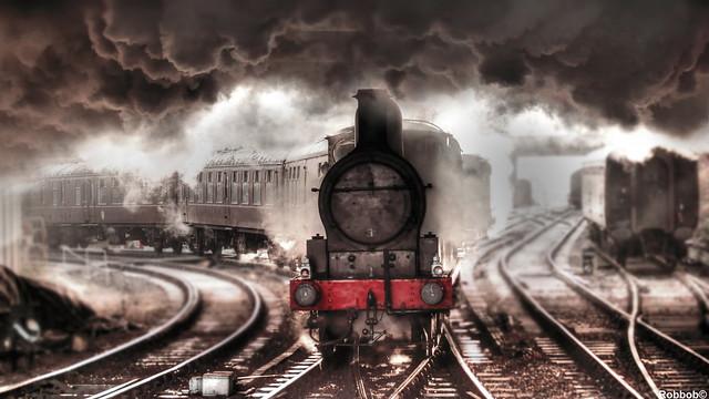 The East Lancashire Railway,Bury Bolton St Station