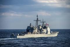 USS Antietam (CG 54) file photo. (U.S. Navy/MC2 Declan Barnes)