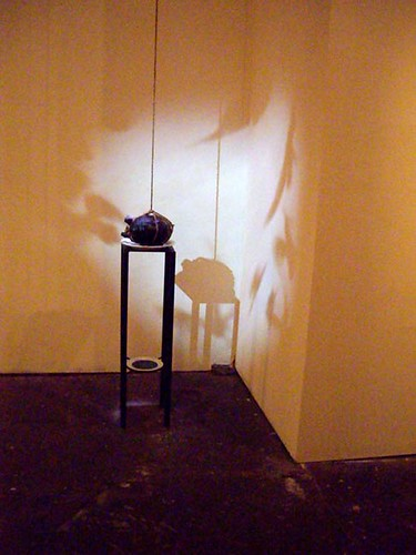 "Victor Cartagena, ""El Sueno de la Razon Produce Monstruos, based on Francisco Goya"" (video sculpture)"
