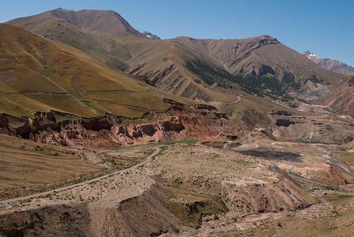 mountains nikon holidays asia mine flickr august centralasia kyrgyzstan wakacje 2014 biketrip highquality kirgistan sierpien d80 karakechemine