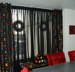 Sheers and Grommet Drapes