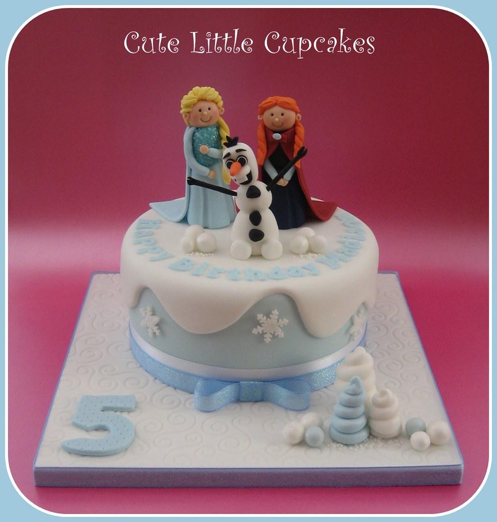 Peachy Frozen Birthday Cake Heidi Stone Flickr Personalised Birthday Cards Paralily Jamesorg