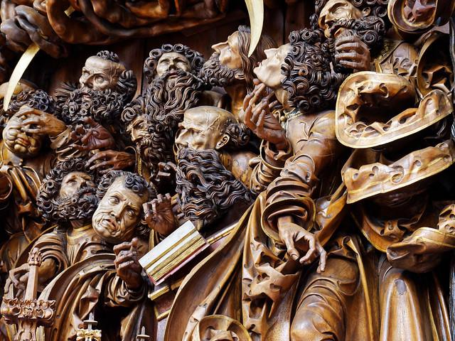 Svetelsky oltar - detail