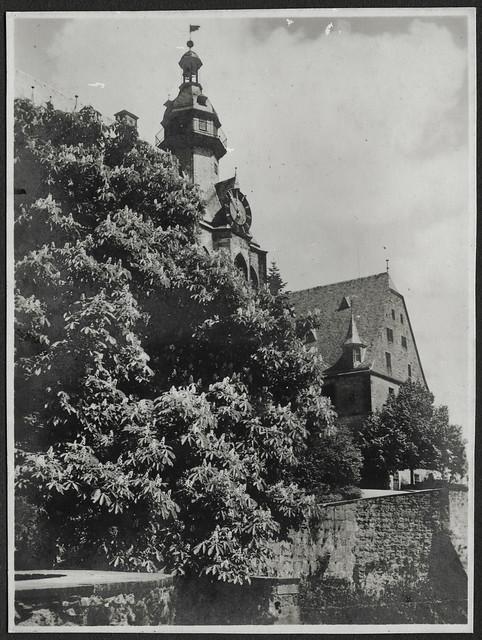 Archiv V006 Schloss, Marburg, 1920er