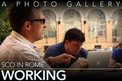 Hofstra in Rome: Working