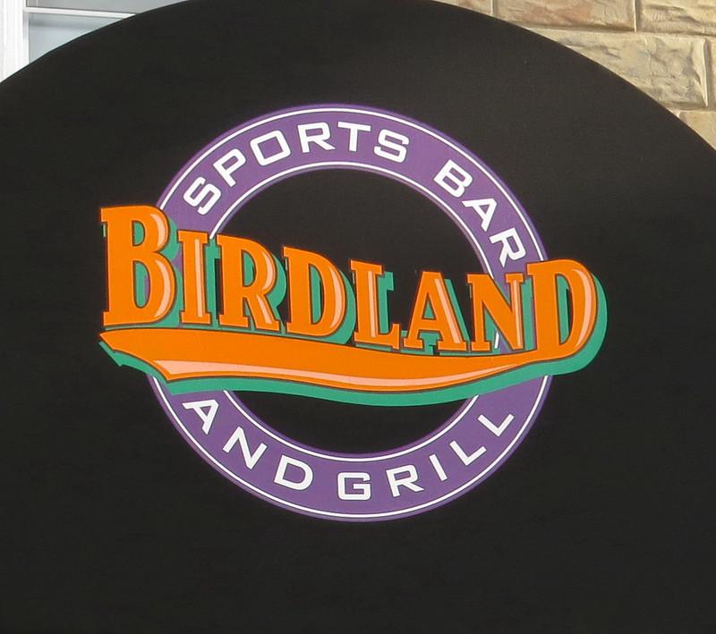 Birdland Sportsbar Awning