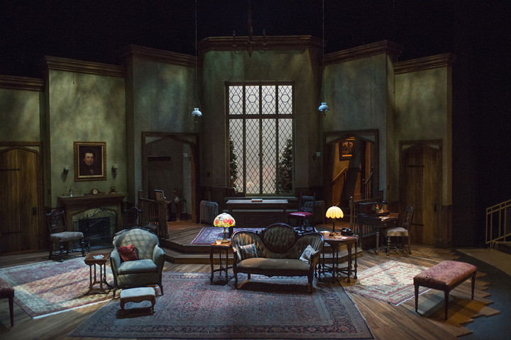 The Mousetrap scenic design by Jack Magaw