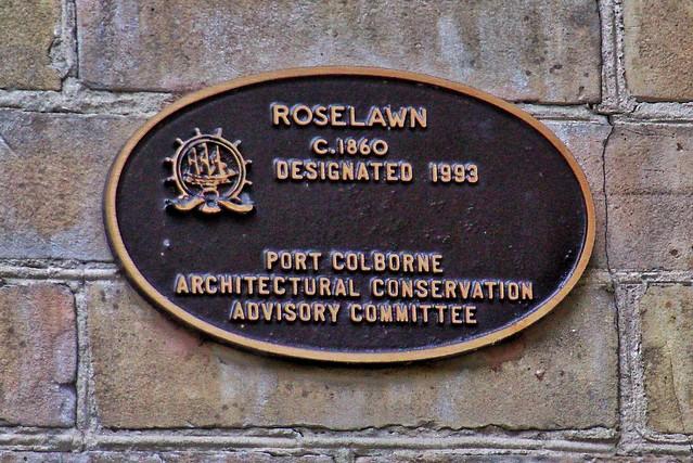 Port Colborne Ontario ~ Canada ~ Roselawn Mansion ~  Roselawn Centre for the Living Art