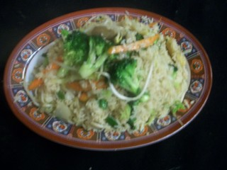 E6 Vegetable Fried Rice | by Golden Gate Chinese Restaurant