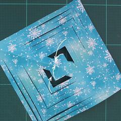 วิธีทำดาวกระดาษรุปเกล็ดหิมะ สำหรับแต่งบ้าน ช่วงเทศกาลต่างๆ (Paper Snowflake DIY) 009