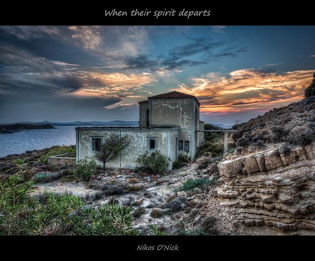 When their spirit departs...