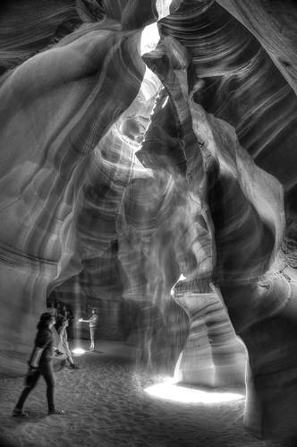 light arizona texture monochrome sandstone page antelopecanyon lightbeam photomatix fav200 1xp nex6 selp1650